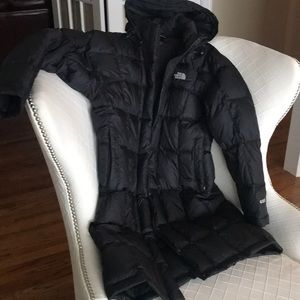 Women's North Face down coat